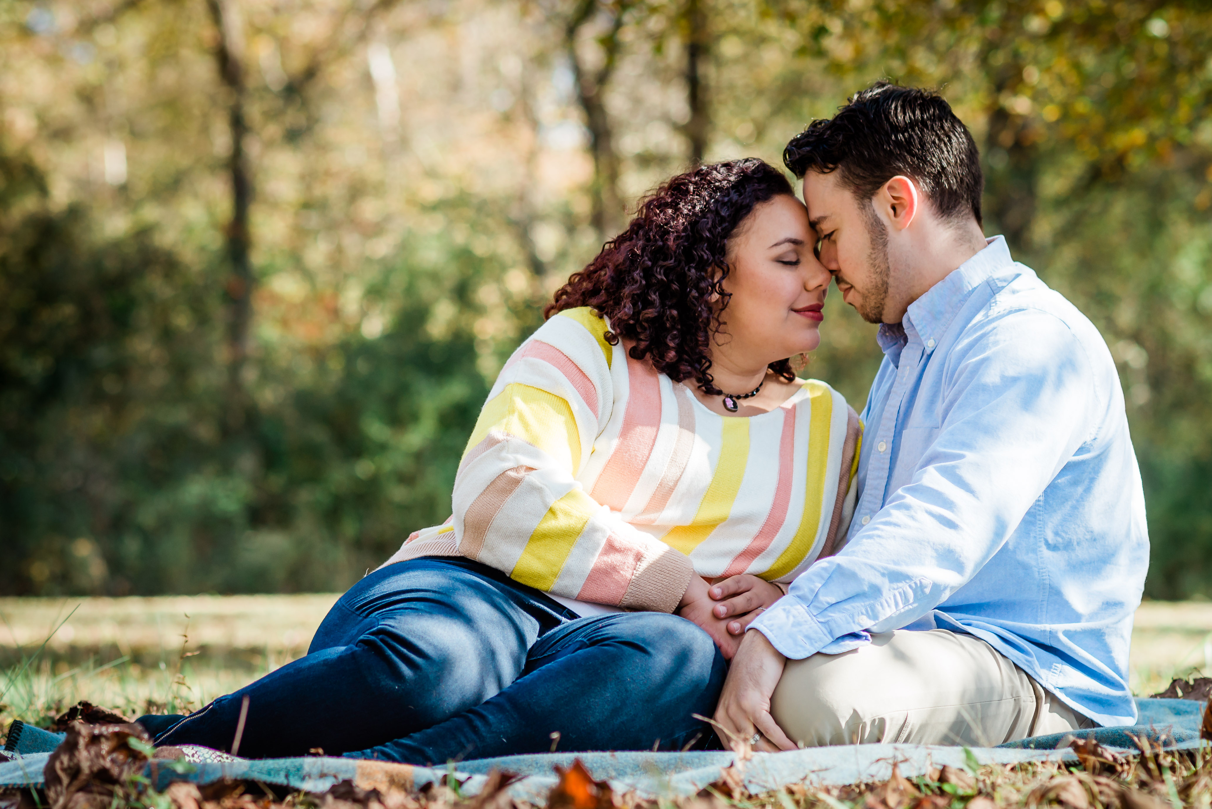 Candid Engagement Session with an a candidate engagement and wedding Photographer in Atlanta